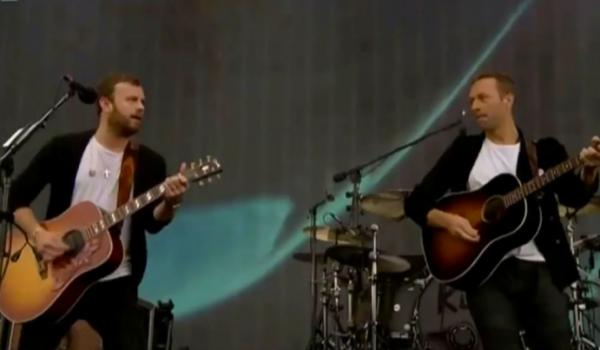 Kings of Leon y Chris Martin tocaron en el BBC Big Weekend