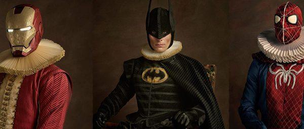 ¿Cómo se hubiesen visto los superhéroes en el Siglo 16? (Galería)