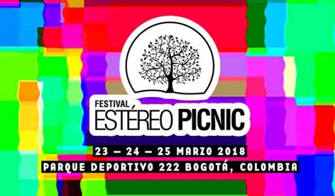 The Killers, Lana del Rey y Gorillaz encabezan cartel del Festival Estéreo Picnic 2018