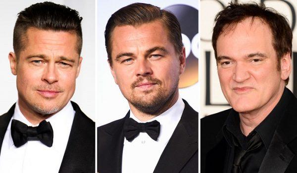 Brad Pitt y Leonardo DiCarpio protagonizarán la nueva película de Quentin Tarantino