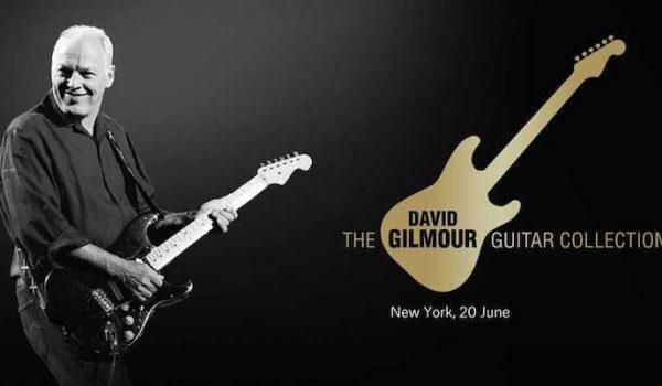 David Gilmour subastará 120 de sus guitarras para fines benéficos (Video)