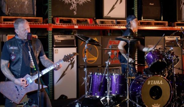 Metallica toca «Enter Sandman» en el Late Show de Stephen Colbert (Video)