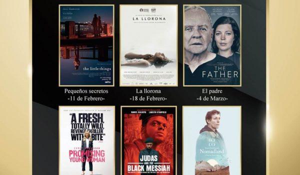 Cine Magaly anuncia la Temporada de Globos de Oro y Oscar 2021