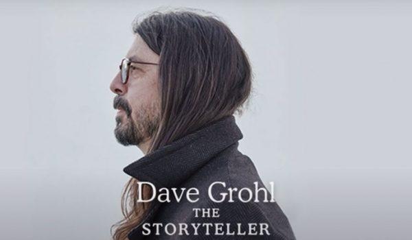 Dave Grohl anuncia publicación de su primer libro: «Dave Grohl: The Storyteller»