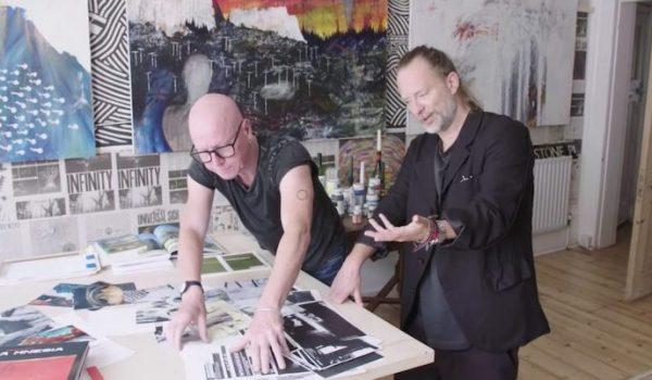 Thom Yorke habla sobre las portadas de los álbumes de Radiohead con el artista Stanley Donwood (Video)